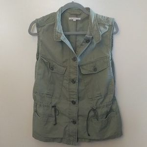 Army Green Utility Vest